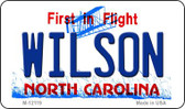 Wilson North Carolina State Wholesale Novelty Metal Magnet M-12119