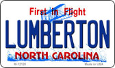 Lumberton North Carolina State Wholesale Novelty Metal Magnet M-12120