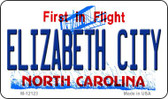 Elizabeth City North Carolina State Wholesale Novelty Metal Magnet M-12123