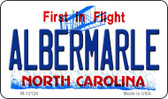 Albermarle North Carolina State Wholesale Novelty Metal Magnet M-12124