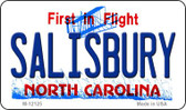 Salisbury North Carolina State Wholesale Novelty Metal Magnet M-12125