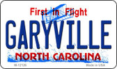 Garyville North Carolina State Wholesale Novelty Metal Magnet M-12126