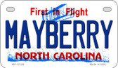 Mayberry North Carolina State Wholesale Novelty Metal Motorcycle Plate MP-12128