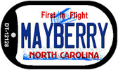 Mayberry North Carolina State Wholesale Novelty Metal Dog Tag Necklace DT-12128