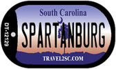 Spartanburg South Carolina State Wholesale Novelty Metal Dog Tag Necklace DT-12129