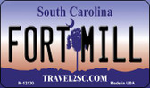 Fort Mill South Carolina State Wholesale Novelty Metal Magnet M-12130