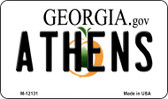Athens Georgia State Wholesale Novelty Metal Magnet M-12131