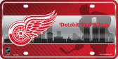 Detroit Red Wings Wholesale Metal Novelty License Plate