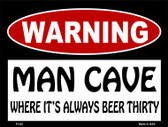Its Always Beer Thirty Wholesale Metal Novelty Parking Sign