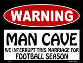 We Interrupt This Marriage Wholesale Metal Novelty Parking Sign P-177