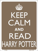 Keep Calm And Read Harry Potter Wholesale Metal Novelty Parking Sign P-2195