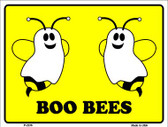 Boo Bees Wholesale Metal Novelty Parking Sign P-2236