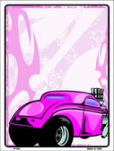 Classic Hot Rod Wholesale Metal Novelty Parking Sign P-343