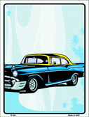 Classic Car Chevy Wholesale Metal Novelty Parking Sign P-344