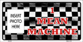 Mean Machine Photo Insert Pocket Wholesale Metal Novelty Small Sign