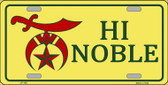 High Noble Novelty Wholesale Metal License Plate