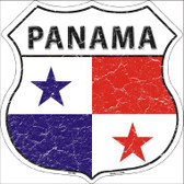 Panama Country Flag Highway Shield Wholesale Metal Sign