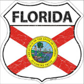 Florida State Flag Highway Shield Wholesale Metal Sign