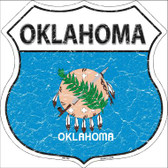 Oklahoma State Flag Highway Shield Wholesale Metal Sign