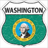 Washington State Flag Highway Shield Wholesale Metal Sign