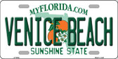 Venice Beach Florida Novelty Wholesale Metal License Plate LP-6002