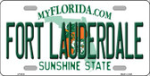 Fort Lauderdale Florida Novelty Wholesale Metal License Plate LP-6013