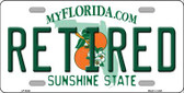 Retired Florida Novelty Wholesale Metal License Plate LP-6024