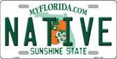 Native Florida Novelty Wholesale Metal License Plate LP-6029