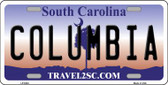 Columbia South Carolina Novelty Wholesale Metal License Plate LP-6304