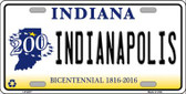 Indianapolis Indiana Novelty Wholesale Metal License Plate