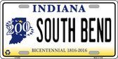 South Bend Indiana Novelty Wholesale Metal License Plate