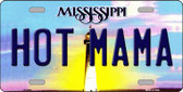 Hot Mama Mississippi Novelty Wholesale Metal License Plate
