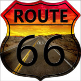 Route 66 Highway Shield Wholesale Metal Sign