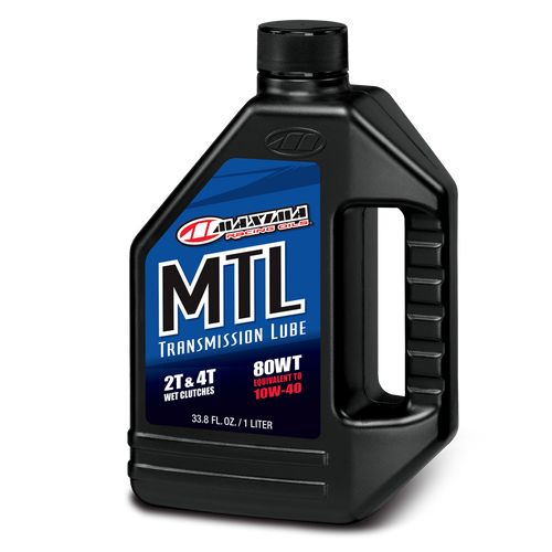 MAXIMA RACING MOTORCYCLE TRANSMISSION LUBE 80 WT
