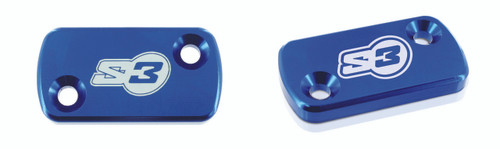 S3 AJP MASTER CYLINDER COVER BLUE