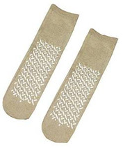 Tan Slipper Socks - Terries (48 Pairs)