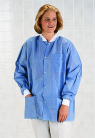 Antistatic Classic Lab Jackets (Case of 30) (XL)