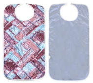 Adult Bibs with Vinyl Barrier - Quilted