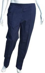 Crest® Basic Color Navy Scrub Uniform Pants - Pack of 5 (Size-L - #192-Petite)
