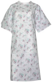 Springtime Full Back Patient Gown