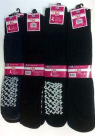 12 Pack Ladies Sock Slipper Diabetic Sock Cotton Blend with Assorted Colors