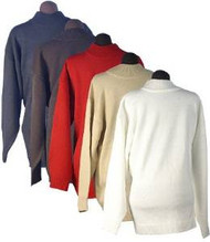 Men's Ron Chereskin 100% Acrylic Sweater - Pull Over (Medium, Ivory)