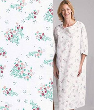 Springtime Full Back Patient Gown - Pack of 12