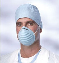 Blue Disposable Molded Face Masks (Pack of 500)