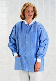 Antistatic Classic Lab Jackets (Case of 30) (Large)
