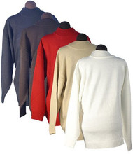 Men's Ron Chereskin 100% Acrylic Sweater - Pull Over (Large, Beige)