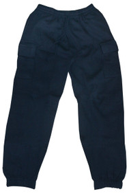 Cargo Sweatpants W/pockets (Medium, Black)