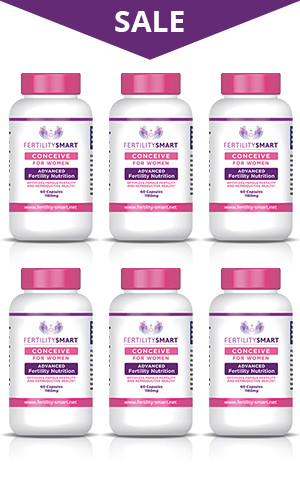 Conceive for Women - 6 Month Supply