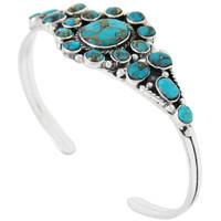 Matrix Turquoise Bracelet Sterling Silver B5484-C84