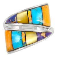 Turquoise Ring Sterling Silver R2011-C01